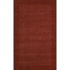 City Wool Rust Area Rug Rug Size: Rectangle 8' x 11'