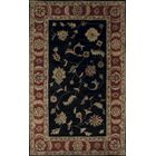 Ashtown Black / Red Rosewood Area Rug Rug Size: Rectangle 4' x 6'