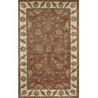 Ashtown Rust / Ivory Area Rug Rug Size: Rectangle 4' x 6'