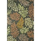 Florence Charcoal Green Rug Rug Size: Rectangle 4' x 6'