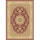 Atterbury Duncaster Ivory Red Area Rug Rug Size: Rectangle 7'10