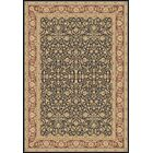 Atterbury Persian Navy/Brown Area Rug Rug Size: Rectangle 7'10