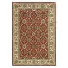 Ashtown Red / Ivory Area Rug Rug Size: Rectangle 6'7