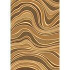 Gerin Beige Wave Area Rug Rug Size: Rectangle 3'11