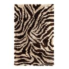 Safari Beige/Brown Rug Rug Size: Rectangle 3' x 5'