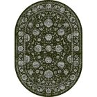 Attell Charcoal/Silver Area Rug Rug Size: Oval 6'7