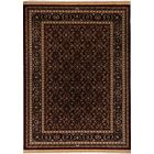 Cirro Wheeler Wool Red/Brown Area Rug Rug Size: Rectangle 6'7