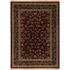 Cirro Fisher Wool Red Area Rug Rug Size: Rectangle 5'3