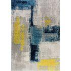Adams Blue/Gray Area Rug Rug Size: Rectangle 3'11