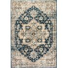 Cortes Beige/Blue Area Rug Rug Size: Rectangle 6'7