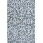 Galen Handmade Wool Blue Area Rug Rug Size: Rectangle 9'2