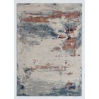 Opal Handmade Beige/Silver Area Rug Rug Size: Rectangle 5' x 8'