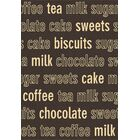 Trend Chocolate Novelty Rug Size: Rectangle 6'7