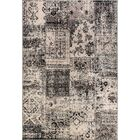 Fleener Black/Silver Area Rug Rug Size: Rectangle 7'10