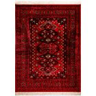 Azuela Red Area Rug Rug Size: Rectangle 2'2