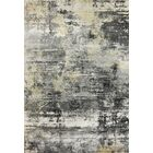 Myranda Modern Gray/Yellow Area Rug Rug Size: Rectangle 5'4