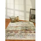Catsby Ivory/Red Area Rug Rug Size: Rectangle 6'8