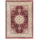 Cirro Oakland Wool Red/Beige Area Rug Rug Size: Rectangle 6'7