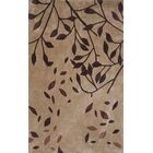 Symphony Hand-Tufted Beige/Brown Area Rug Rug Size: Rectangle 5' x 8'