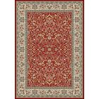 Attell Red/Ivory Area Rug Rug Size: Runner 2'2