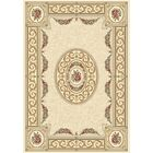 Attell Blue/Ivory Area Rug Rug Size: Rectangle 6'7