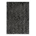 Aria Ivory/Black Area Rug Rug Size: Rectangle 8' x 11'