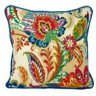 Jewels and Old Country Throw Pillow