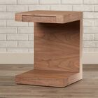 Eustorgios End Table Color: Walnut
