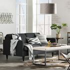 Hand-Tufted Faux Cowhide Brindle Area Rug