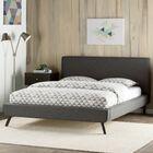 Delve Upholstered Platform Bed Size: Full