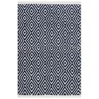 Arbuckle Cotton Navy Area Rug Rug Size: Rectangle 4' x 6'