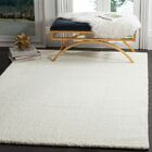 Bivins White Area Rug Rug Size: Rectangle 4' x 6'