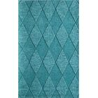 Bristol Hand-Tufted Teal Area Rug Rug Size: Rectangle 5' x 8'