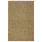 Larmon Bolster Shag Kings Gold Tufted Area Rug Rug Size: Rectangle 5' x 8'