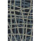Mireia Navy/Light Gray Indoor/Outdoor Area Rug Rug Size: Rectangle 4' x 6'