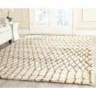 Gholston Tan/Brown New Zealand Area Rug Rug Size: Rectangle 8' x 10'