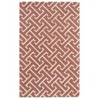 Vanauken Pink/White Area Rug Rug Size: Rectangle 5' x 7'9