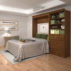 Acevedo Full/Double Storage Murphy Bed Color: Chocolate