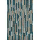 Borel Hand-Tufted Emerald/Sage Area Rug Rug Size: Rectangle 9' x 13'