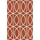 Blackledge Pumpkin Area Rug Rug Size: Rectangle 5' x 7'6