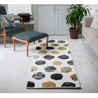 Phelps Blue/Gold Area Rug