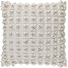 Wool Throw Pillow Size: 22