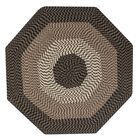 Vienne Chocolate Area Rug Rug Size: Octagonal 8'