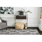 Hand-Tufted Black/Beige Area Rug Rug Size: Rectangle 8' x 10'