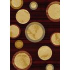 City Universe Area Rug Rug Size: 8' x 10'