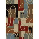 Hometown Broadway Biege Area Rug Rug Size: Rectangle 5'3