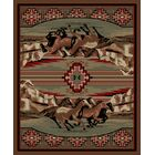 American Destinations Brown Area Rug Rug Size: Rectangle 8' x 10'