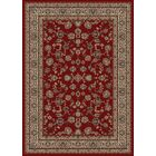 Heritage Elegant Keshan Claret Area Rug Rug Size: Rectangle 5'3