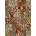 Timeless Flowers Squared Area Rug Rug Size: Rectangle 8' x 10'