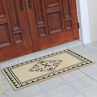 Bradford Anti Shred Treated Non-Skid Entry Monogrammed Double Doormat Letter: X